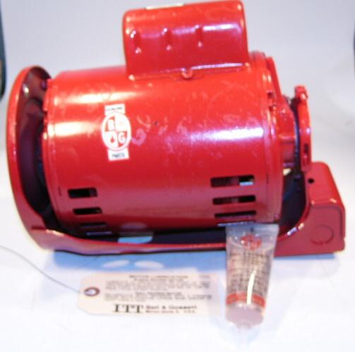 Bell gossett 111044 1 2 hp motor 115 230v for Bell gossett motors