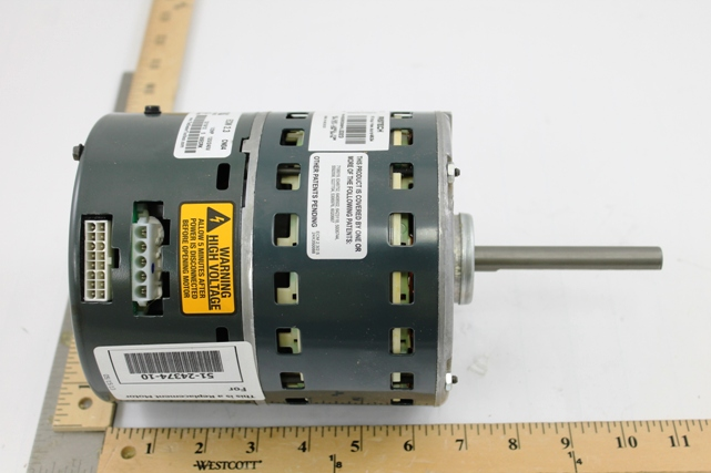 Rheem products 51 24374 10 1 2hp variable speed ecm motor for Variable speed ecm motor
