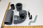 Rheem Water Heater Parts 7000P604 EXHAUST ELBOW
