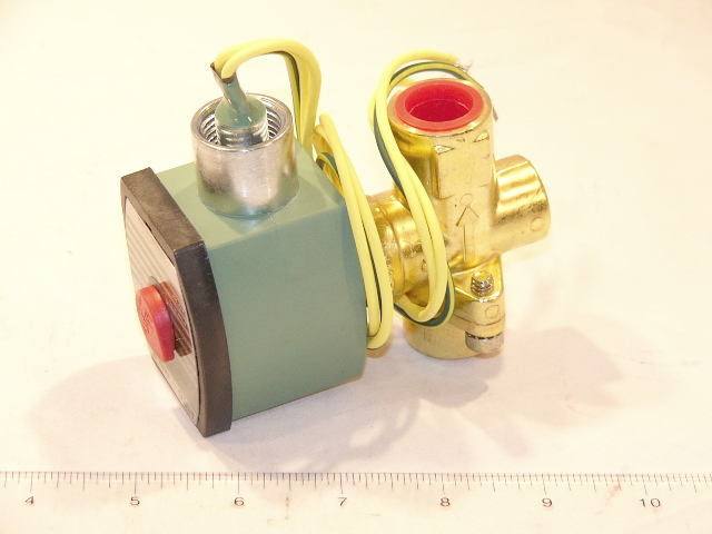 "Asco 8267G15 1/2""N/O,0/15#STEAM VALVE BRASS"