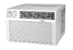 WINDOW/ROOM AC W/3.5KW STRIP HEAT 208-230V 9,300 BTUH 10 EER 20A