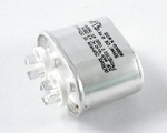 CAPACITOR  910120038 2MFD 440V OVAL MTL NON-PCB UNPAINTED  440V 2UF 2.0 MFD 440/50-60 REPLACES 02007497  037516407 37516407 375164D-07 802007497 97F5583, KKN44U205QP1-G, P71A15205K07, Z50P4402M, 325P205H44A15A4X