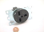 PART #: 047139804 RECEPTACLE 3 WIRE 208-230V 30A 6-30P  RS/250V Single