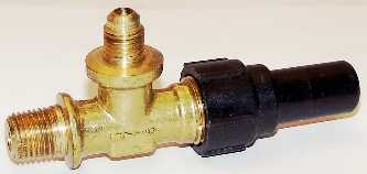 PART #: 735039918 VALVE SHUTOFF MANUAL 1/4 NPT