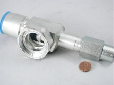 "PART #: 735039953 VALVE SHUTOFF 1-3/8""OD .25""FLARE 7.2""L REPLACES 350A399H53 350A972G73 735097273"