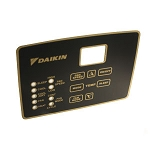 Daikin McQuay 300055085 Daikin MCQUAY 300055085 Label Overlay Only - for Local User Interface (LUI) Touchpad 668003502 and 668003501