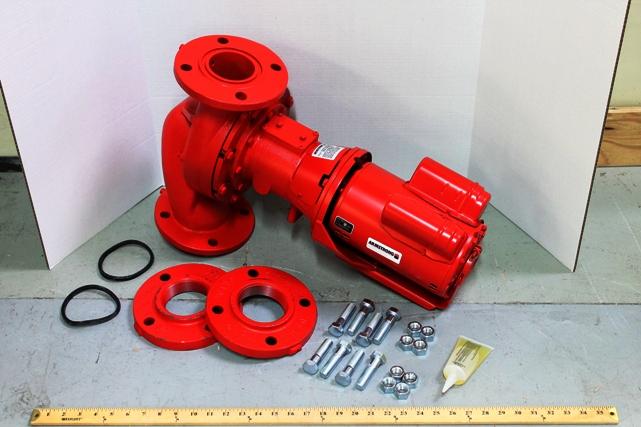 Armstrong Pumps 116531-132 S69-BF1 1HP 1PH CI BODY/BRN IM