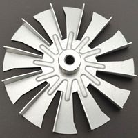 NBK 20181 FAN BLADE 4-3/4 INCH *** Replaces / Equivalent to HARMAN 3-21-00661, AMP-00661 ***