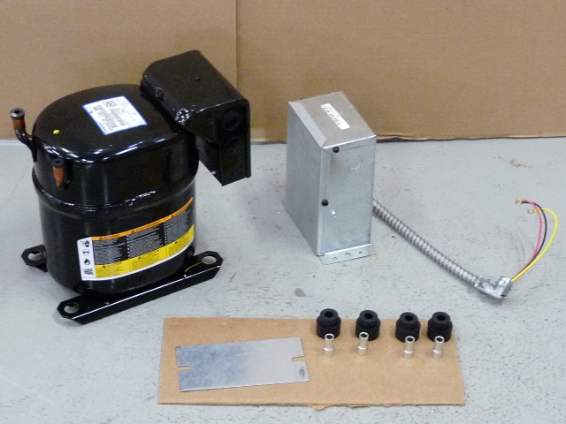 Copeland Compressor RS55C2E-CAA-908 1/2HP,R404A,115V