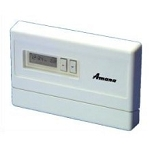 AMANA REMOTE STAT (PTH OR PTC), 2 HEAT , 1 COOL , PROGRAMABLE = YES, AUTO= NO STYLE, Horz/Digital