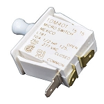 Daikin McQuay 033696300 Micro Switch 1DM-401 SWITCH PUSH BUTTON SPDT 10A  1/2 HP 250-277VAC ***IMPORTANT NOTES: REPLACES 033696301