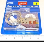 Danfoss 077B7001 Refrigerator Thermostat  Kit 4.3'CAP  *** This item directly replaces 077B0033 ***