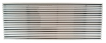 FRIGIDAIRE 5304480558 LOUVER,  42 X 16 Architectural, Clear Coated Aluminum (Extruded Bar Aluminium Construction)
