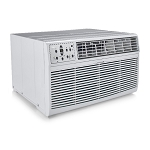 Midea MAT14H2ZWT Through the Wall Air Conditioner 14,000 BTU 208-230V with 3.5KW Heat 20A CEER=9.5 *** FREE SHIPPING ***