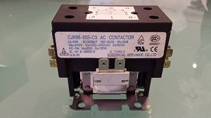 CHIGO CONTACTOR 030050066 030050066R Gulin Machine Tools Elelctrical  Appliance Co CJX9B-25S-C3 CJX9B-25S C3 AC Contactor Two Pole / Double Pole
