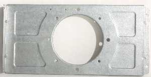 Daikin McQuay 300039316 PTAC/HP-B&B+ Indoor Motor Bracket *** This Item is obsolete or has been replaced by a new version. Please email sales@ptacsolutions.com or call 888-727-8007 for current replacement options ***