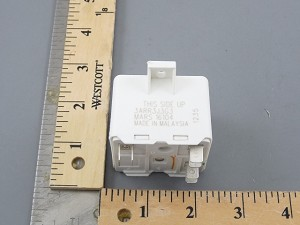 General Electric Products RVA8AS3L Start Relay 6Terminal  replaces 3ARR3J3G3 Relay