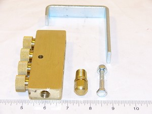 Bell & Gossett TV-4 4 PORT TRUMPET VALVE  *** Pricing Valid for remaining stock only ***