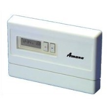 AMANA Remote Stat (PTC ONLY) 1 HEAT , 1 COOL, PROGRAMABLE = NO, AUTO = NO, STYLE: Horz/Digital