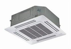 36,000 BTU Four Way Ceiling Cassette Heat Pump